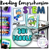 STEAM STORIES BUNDLE, STEM and ELA,  January Holidays