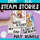 STEAM STORIES BUNDLE, STEM and ELA,  May Holidays