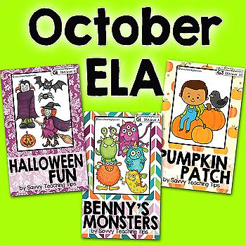 STEAM STORIES BUNDLE, STEM and ELA,  October Halloween