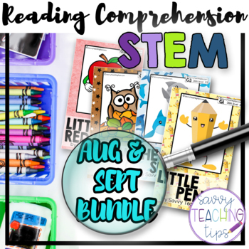 STEAM STORIES BUNDLE- STEM and ELA together - Weeks 1 to 4