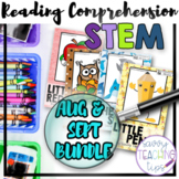 STEAM STORIES BUNDLE, STEM and ELA,  August and September Back To School