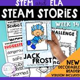 STEAM STORIES - STEM and ELA together - Week Fourteen Jack Frost