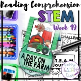 STEAM STORIES - STEM and ELA together - Week Nineteen A Day on the Farm