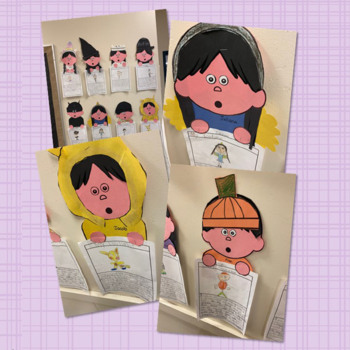 STEAM STORIES - STEM and ELA together - Week One