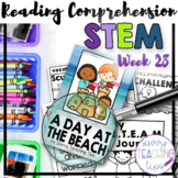 STEAM STORIES - STEM and ELA together - Week Twenty-Eight At The Beach