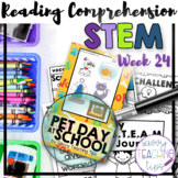 STEAM STORIES - STEM and ELA together - Week Twenty-four Pet Day at School