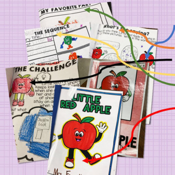 STEAM STORIES - STEM and ELA together - Week Two Little Red Apple