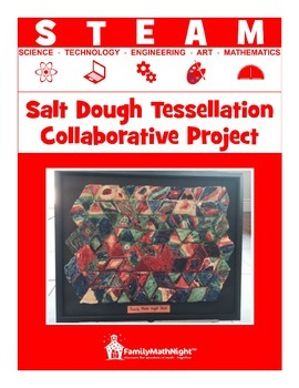 STEAM:  Salt Dough Tessellation Collaborative Project