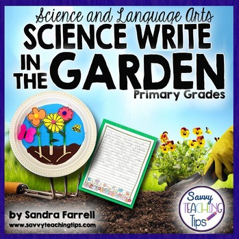 STEAM Science Write IN THE GARDEN