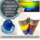 STEAM Science and Art Color Lab: Using Sensory Bottles to Learn Color Mixing