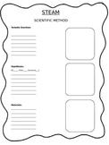 STEAM Scientific Method Sheet