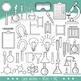 STEM / STEAM Clip Art Set 1- Science