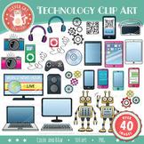 STEM / STEAM Clip Art Set 2 – Technology