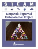 (STEM) STEAM:  Sierpinski Pyramid Collaborative Project