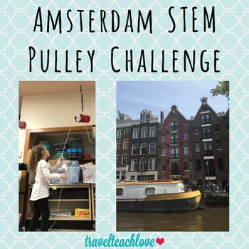 STEAM Simple Machine Pulley Challenge