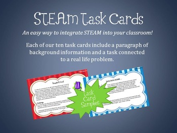 STEAM Task Cards