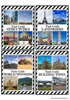STEAM / STEM Task Cards: Building Structures