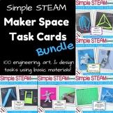 Maker Space Task Card Bundle (Simple STEAM!)