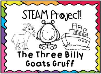 STEAM The Three Billy Goats Gruff Pack! (STEM)