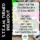 STEAM Themed Breakout Activity
