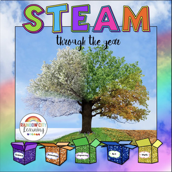 Distance Learning STEM/STEAM Through the Year Bundle