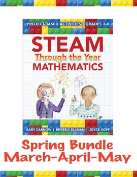 STEAM Through the Year: Mathematics – Spring Bundle (March, April and May)