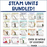 STEAM Units for the Whole Year!   Science Stations for Primary Grades