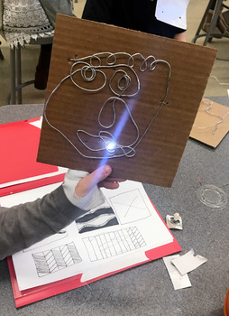 STEAM / STEM WIRE CIRCUIT PORTRAITS with VIDEO LINK!