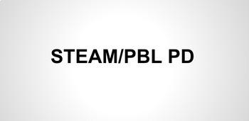 STEAM and PBL Professional Development Presentation (51 slides)
