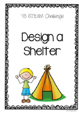 STEAM challenge - Build a shelter