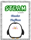 STEAM en español pinguinos