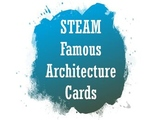 STEAM famous architecture cards