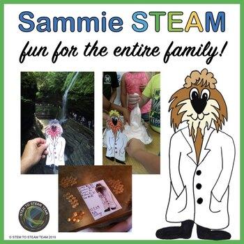 Family STEM/STEAM Challenges with SAMMIE STEAM!
