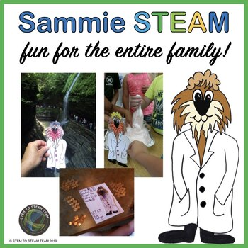 Family STEM/STEAM Challenges with SAMMIE STEAM!