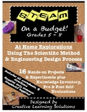 STEAM on a Budget: 16 At-Home Explorations