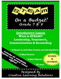 STEAM on a Budget! Introductory Lesson