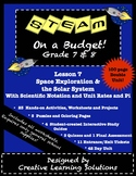 STEAM on a Budget! Lesson #7 Space Exploration & The Solar System