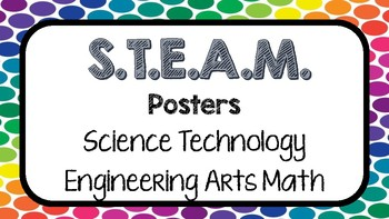 STEAM or STEM Posters