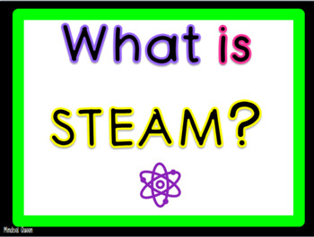 STEAM posters and Powerpoint