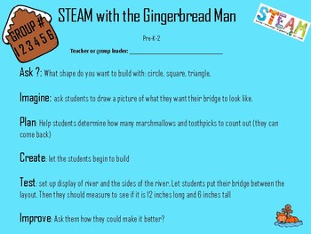 STEAM with the Gingerbread Man