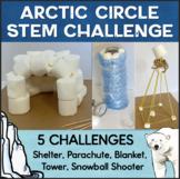 Winter STEM Activities: Great Arctic Circle STEM Challenge Pack