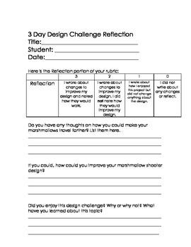 STEM 3 Day Design Challenge 5