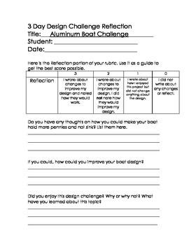 STEM 3 Day Design Challenge 6