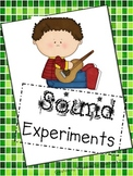 STEM! 3 Sound Experiments! How sound is produced/sound travels