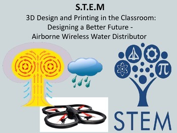 STEM 3D Design + Printing Designing a Better Future: Airborne Water Distributor