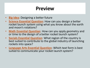 STEM 3D Design + Printing in the Classroom: Design a Better Rocket Launch System