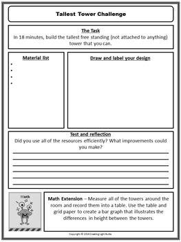 STEM BUNDLE - 5 Low Cost STEM Activities