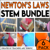 Newton's Laws of Motion STEM Challenge 6-Pack Bundle