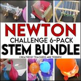 Newton's Laws of Motion STEM Challenge 6-Pack Bundle
