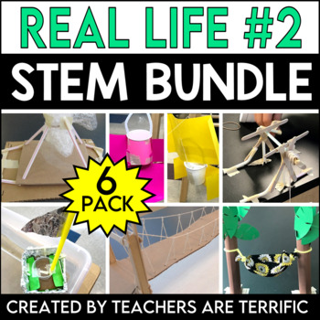 STEM Challenges 6 Pack Bundle featuring Real Life Adventures 2